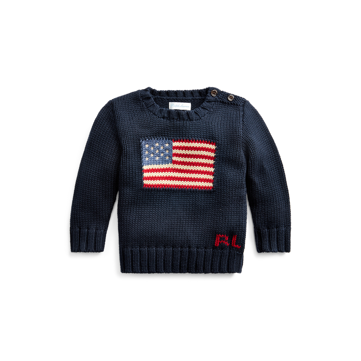 Flag of Panama Boys Pullover Sweater Cute Crew Neck Knitted Sweater for 2-6T