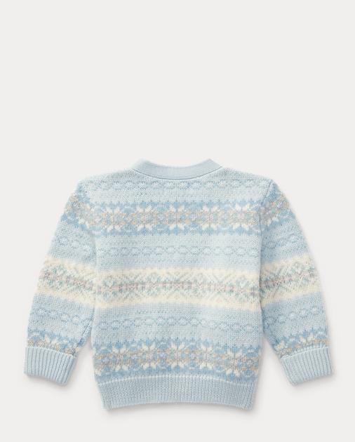 Fair Isle Wool-Blend Cardigan   Sweaters Baby   Ralph Lauren