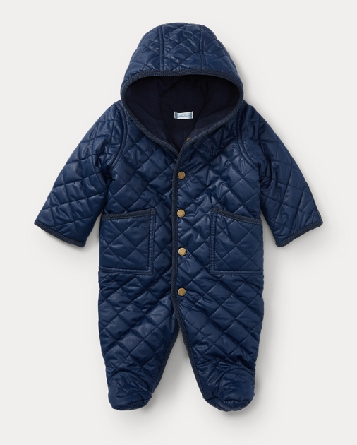 bdd02204 Quilted Bunting | Outerwear & Jackets Baby | Ralph Lauren