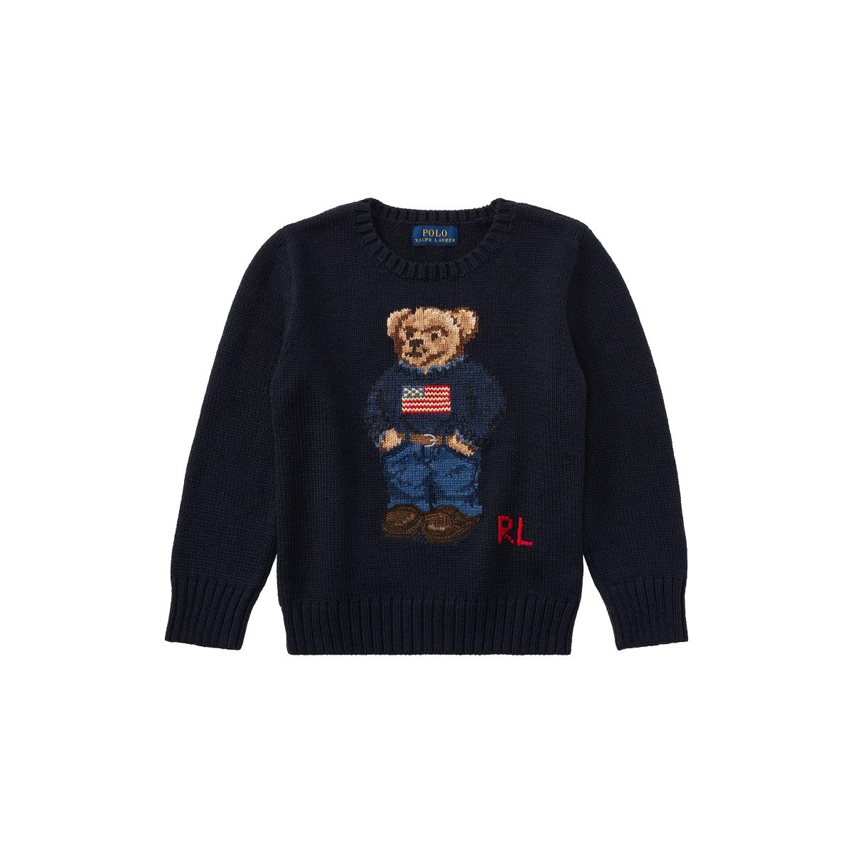 0cd8cd2fb87e Polo Bear Cotton Sweater