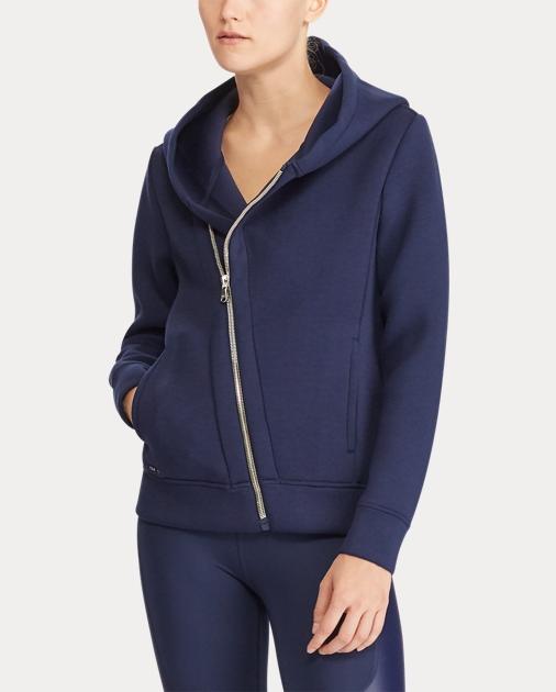 9c4206881 Polo Ralph Lauren Asymmetrical Zip-Up Hoodie 4