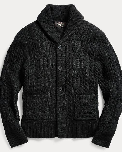 5f5b4f1176 Merino Wool Shawl Cardigan   Cardigan & Full-Zip Sweaters   Ralph Lauren