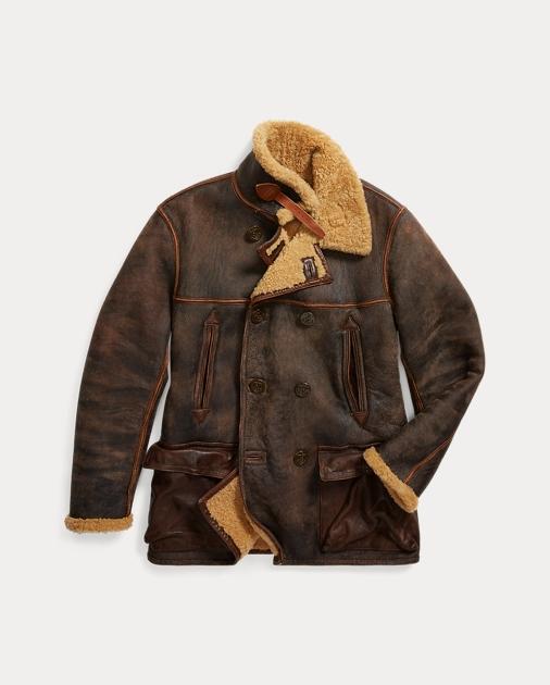 2bbce9d89 Shearling Peacoat | Coats Jackets & Coats | Ralph Lauren