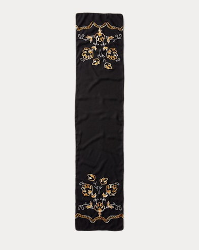 Mayfair Chain-Stitched Scarf