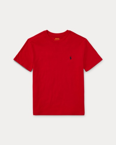 폴로 랄프로렌 보이즈 티셔츠 Polo Ralph Lauren Cotton Jersey Crewneck Tee,Rl 2000