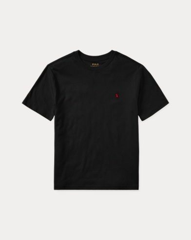 폴로 랄프로렌 보이즈 티셔츠 Polo Ralph Lauren Cotton Jersey Crewneck Tee,Polo Black