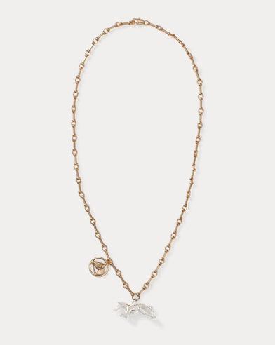 Collier breloque cheval