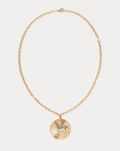 Horse Pendant Necklace