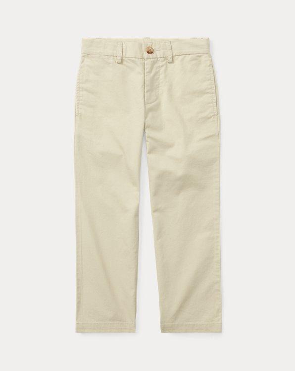 폴로 랄프로렌 남아용 치노 바지 Polo Ralph Lauren Slim Fit Cotton Chino Pant,Basic Sand