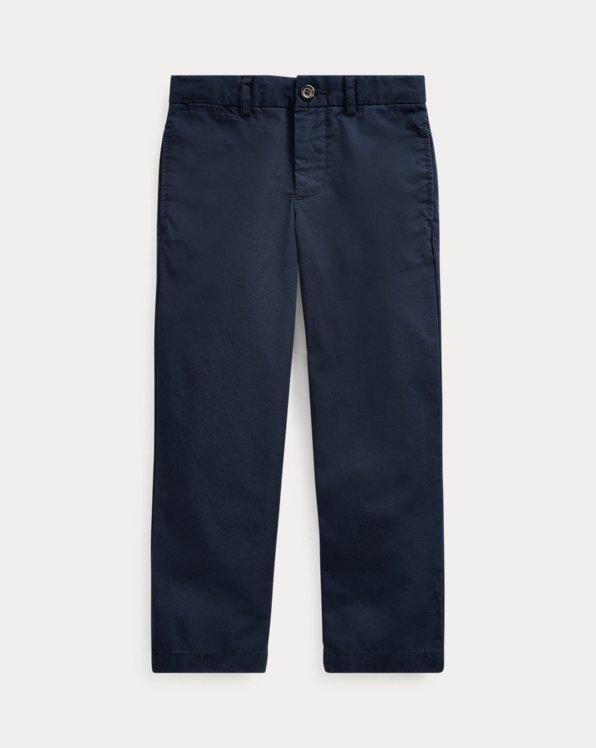 폴로 랄프로렌 남아용 치노 바지 Polo Ralph Lauren Slim Fit Cotton Chino Pant,Aviator Navy