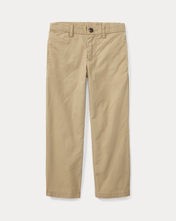 Straight Fit Stretch Chino Pant