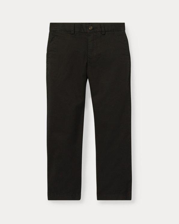 폴로 랄프로렌 남아용 치노 바지 Polo Ralph Lauren Slim Fit Cotton Chino Pant,Polo Black