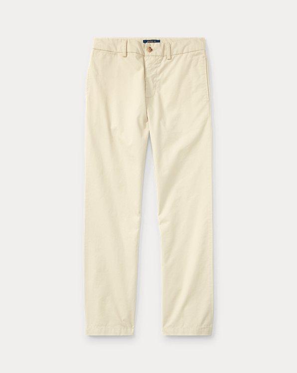 폴로 랄프로렌 보이즈 치노 바지 Polo Ralph Lauren Slim Fit Cotton Chino Pant,Basic Sand