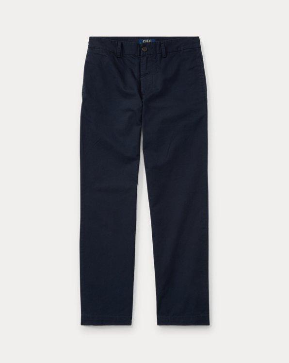 폴로 랄프로렌 보이즈 치노 바지 Polo Ralph Lauren Slim Fit Cotton Chino Pant,Aviator Navy
