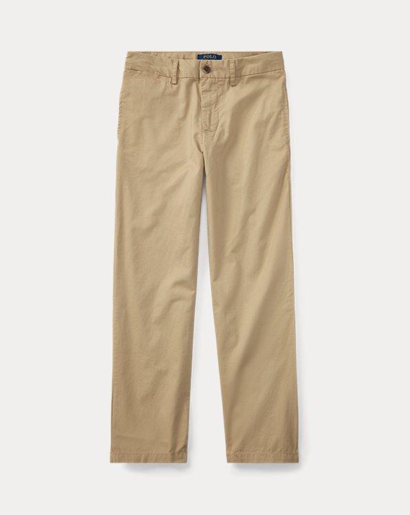 폴로 랄프로렌 보이즈 치노 바지 Polo Ralph Lauren Slim Fit Cotton Chino Pant,Classic Khaki