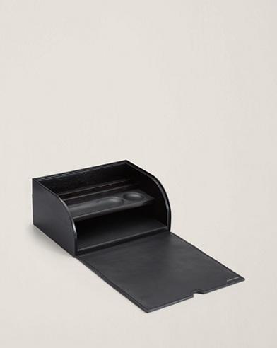 Caja escritorio de piel Brennan