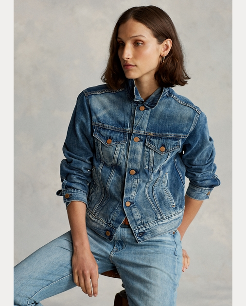 Polo Ralph Lauren Denim Trucker Jacket 1