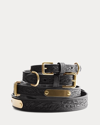 Dakota Leather Dog Collar