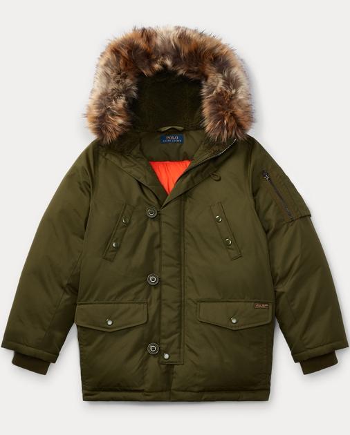 f61714a70 Hooded Down Jacket   Jackets & Coats Boys' 8-20   Ralph Lauren