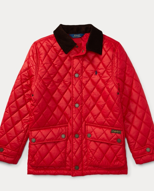fc6a7bccbc Quilted Barn Jacket | Jackets & Coats Boys' 8-20 | Ralph Lauren