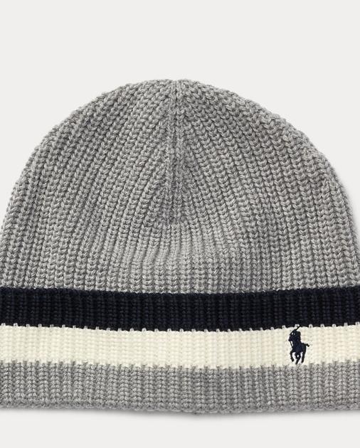 9800a01d96b produt-image-0.0. FOE BOYS Striped-Brim Ribbed Cotton Hat