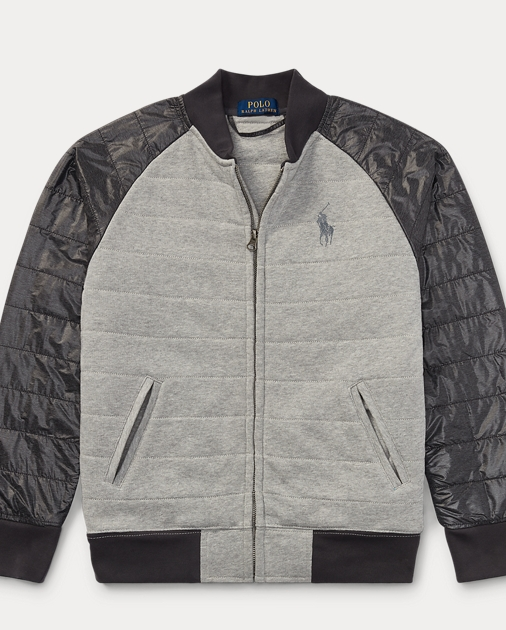 a3e5e39482 Quilted Cotton Baseball Jacket | Jackets & Coats Boys' 8-20 | Ralph ...