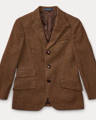 Wool-Cashmere Twill Sport Coat