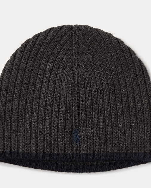 955dc06462f Boys 2-7 Ribbed Merino Wool Beanie 1