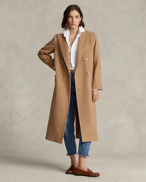 9cd396b6f2c0 Polo Ralph Lauren Polo Camel-Hair Coat 1