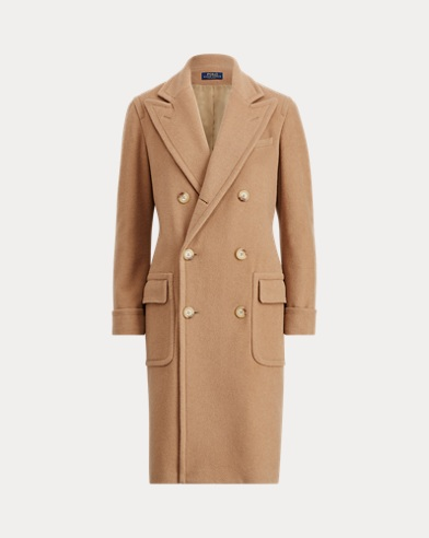 Polo Camel-Hair Coat