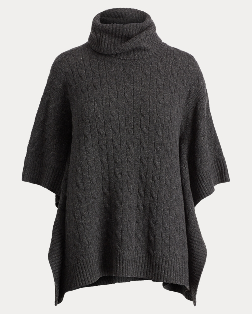 latest design save up to 80% undefeated x Cashmere Turtleneck Poncho