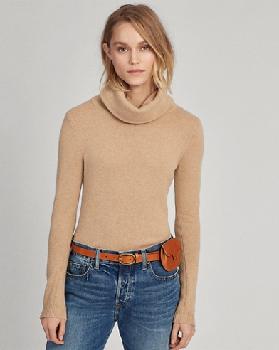 Chunky Cashmere Turtleneck