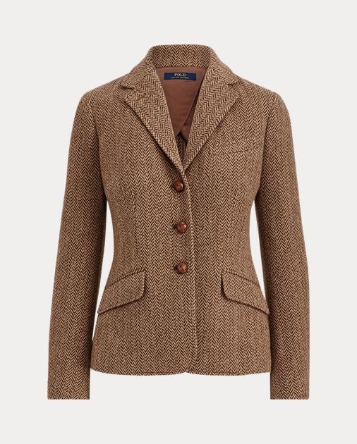 3169a35ae Polo Ralph Lauren Herringbone Wool Blazer 1