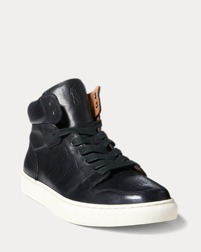Jory Calfskin High-Top Sneaker