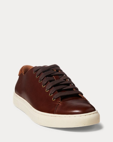 Jermain Leather Trainer