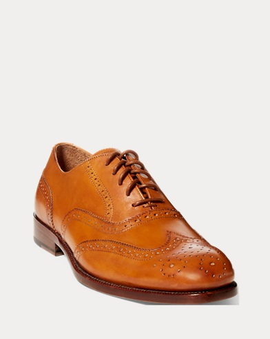 Fullbrogue Atley aus Kalbsleder