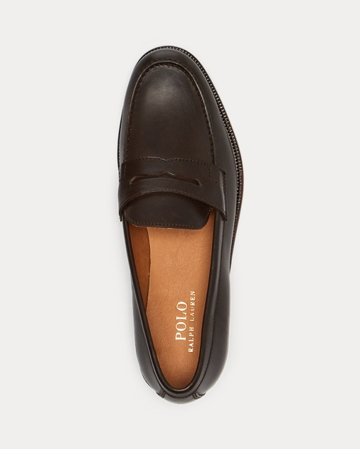 ef5b4d4c8bf Polo Ralph Lauren Agustin Calfskin Penny Loafer 3