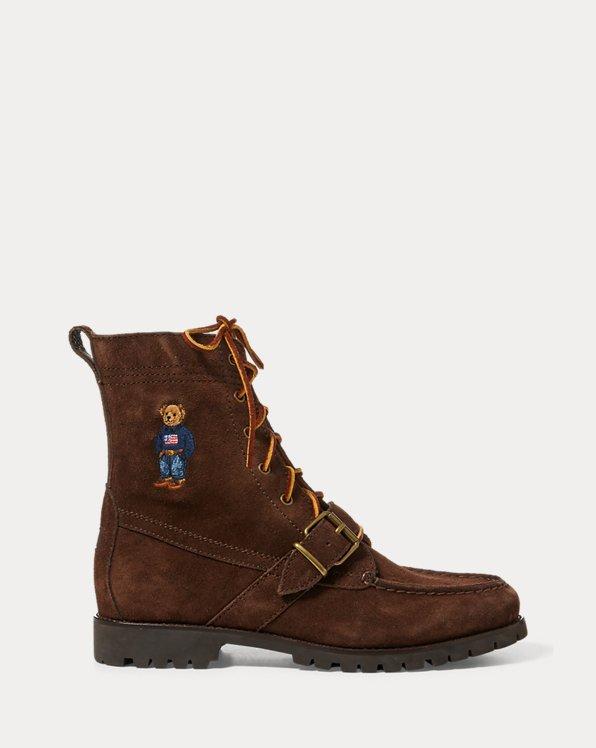 Polo Bear Ranger Suede Boot