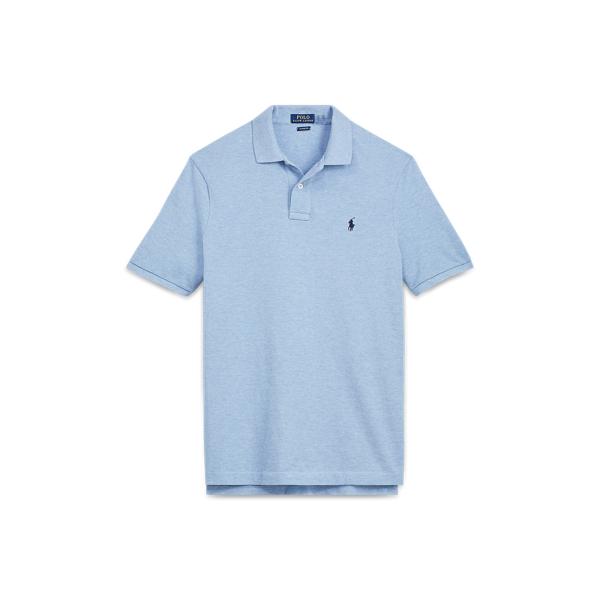 Ralph Lauren Classic Fit Mesh Polo Shirt Jamaica Heather Xs