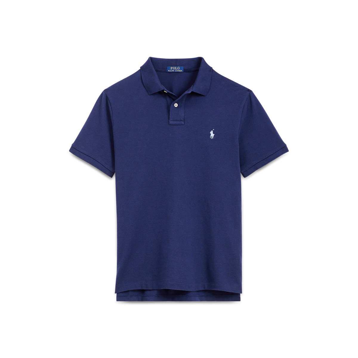 154675ae01ac1f Custom Slim Fit Mesh Polo