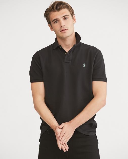 a85d93da Custom Slim Fit Mesh Polo   Custom Slim Polo Shirts   Ralph Lauren
