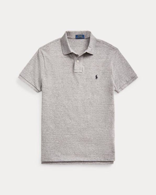 Custom-Slim-Fit Polo aus Piqué