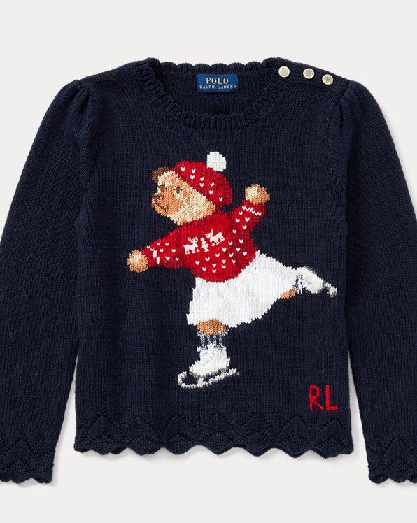 Skate Polo Bear Cotton Sweater