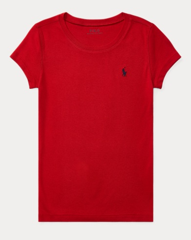 Cotton-Blend Crewneck T-Shirt