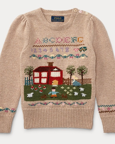 Schoolhouse Cotton Jumper