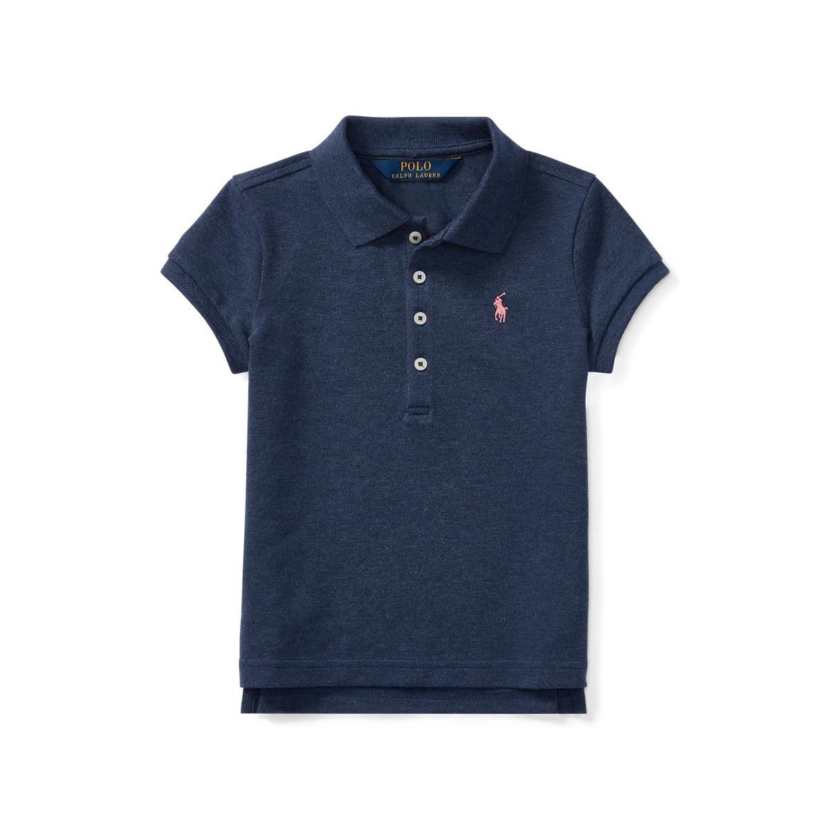 3 3T Ralph Lauren Girls Elongated Polo Shirt Top
