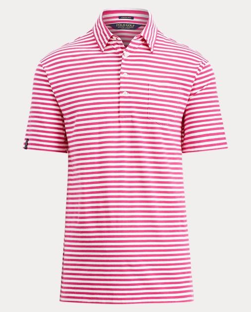 076ee80d52 Custom Fit Stretch Lisle Polo | Custom Slim Polo Shirts | Ralph Lauren