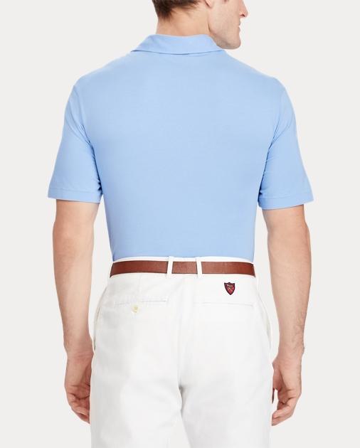 45f7257086 Active Fit Stretch Lisle Polo | Custom Slim Polo Shirts | Ralph Lauren