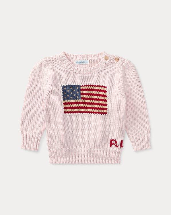 Jersey de algodón con bandera