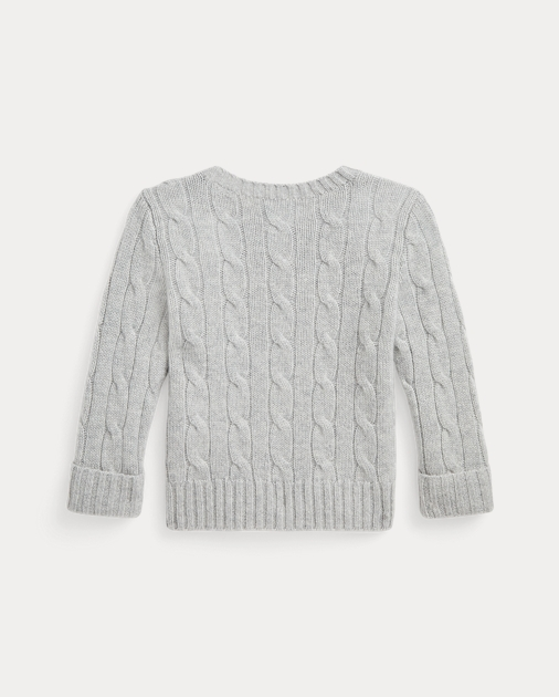 0ba53253d Cable-Knit Cashmere Sweater | Sweaters Baby | Ralph Lauren